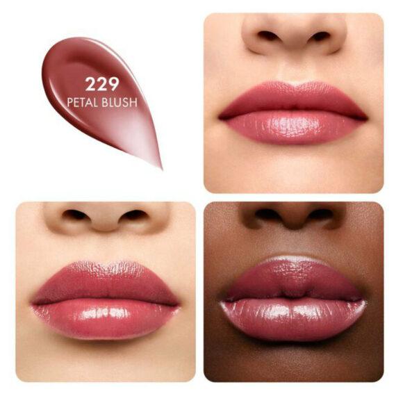 Guerlain KissKiss Shine Bloom 229 Petal Blush