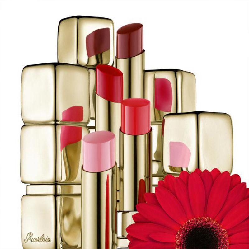 Guerlain KissKiss Shine Bloom Lipstick 775 Poppy Kiss 3.2g