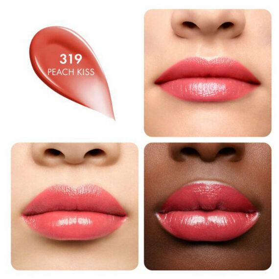 Guerlain KissKiss Shine Bloom 319 Peach Kiss