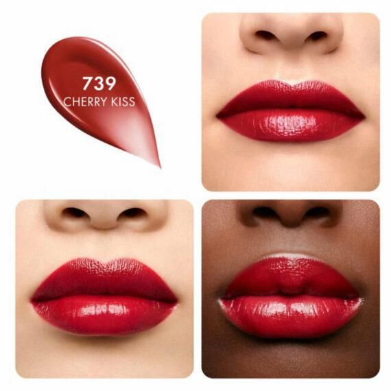 Guerlain KissKiss Shine Bloom 739 Cherry Kiss