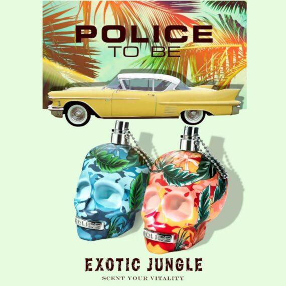 Police Exotic Jungle Ad