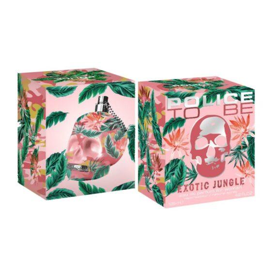 Police Exotic Jungle Woman 125 Box