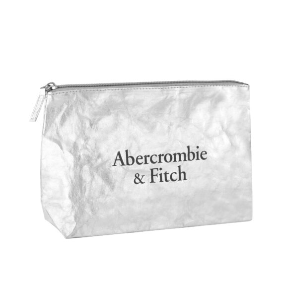 A&F Naturally Fierce Silver Pouch Free Gift