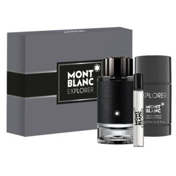 Mont Blanc EXPLORER Gift Set 100ml EDP, Deo Stick 75g, 7.5ml EDP