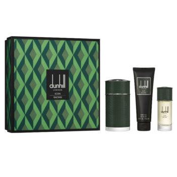 dunhill Londaon ICON Racing Green Gift Set 100ml EDP, 30ml EDP, 90ml Shower Gel