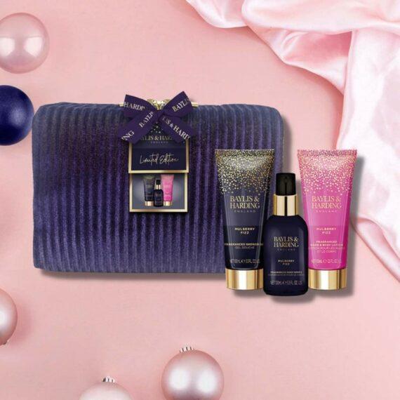 Baylis Harding Mulberry Fizz Wash Bag Set 2