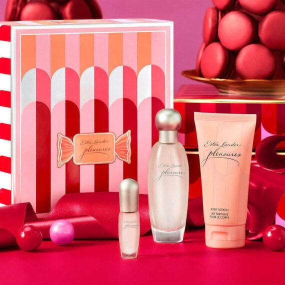 Estee Lauder Pleasures Favourites Trio 50ml EDP Gift Set 2