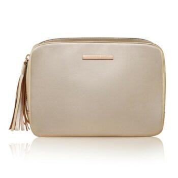 Jennifer-Lopez-Free-Gift-Gold-Cosmetic-Bag