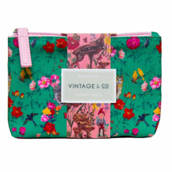 Nathalie Lete Forest Folk Cosmetic Pouch