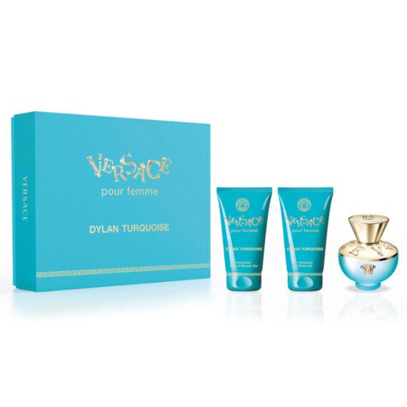 Versace Dylan Turquoise 50ml Eau de Toilette Gift Set