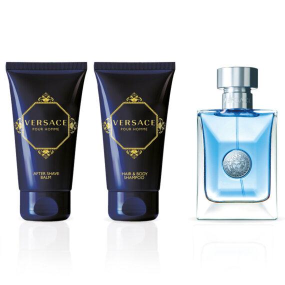 Versace Pour Homme 50ml Eau de Toilette Gift Set 2