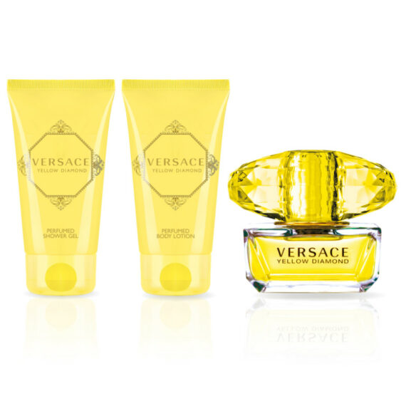Versace Yellow Diamond 50ml Eau de Toilette Gift Set 2